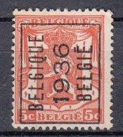 BELGIË - PREO - 1936 - Nr 308 A   BELGIQUE 1936 BELGIË - (*) - Precancels