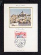 13 Marseille / FDC Carte Maximum / Le Vieux Port  / Cachet 1er Jour 1983 Congrès Stés Philatéliques  Sur N° 2273 - Marseille