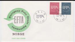 Norway 1967 FDC Europa CEPT (G99-48) - Europa-CEPT