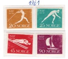SPORT - OLYMPIC GAMES - 1961 - NORVEGIA  -  Mi. Nr.  452/455 - NH - (6532-51) - Norvegia