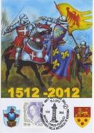 Italia 2012 Alfonsine (RA) 500° Anniversario Della Battaglia Di Ravenna Annullo Cartolina - Autres
