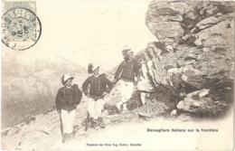 Dépt 05 - Bersagliers Italiens Sur La Frontière - (Éditeur : Papeterie Des Alpes Eug. Robert) - Bersaglieri - Frankreich