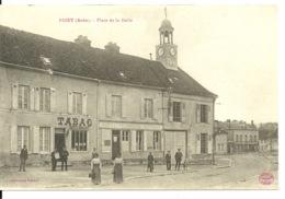10 - PINEY / PLACE DE LA HALLE - Autres Communes