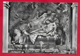 CARTOLINA NV ITALIA - Gruppo In Legno LA PASSIONE - A. M. MARAGLIANO - Chiesa S. Matteo GENOVA - 10 X 15 - Sculptures