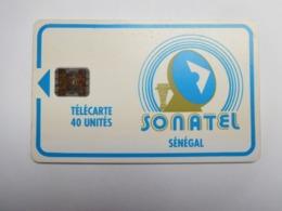 Télécarte Sénégal , Sonatel , 40 Unités - Sénégal