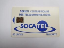 Télécarte République Centrafricaine , Socatel , 60 Unités - República Centroafricana