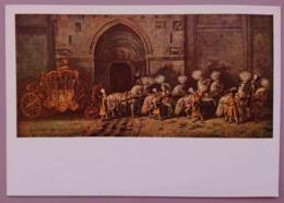 WIEN, KUNSTHISTORICSCHES MUSEUM - WAGENBURG IN SCHONBRUNN - Imperialwagen Mit Imperialzug V. Der Stephanskirche CARROSSE - Taxi & Carrozzelle