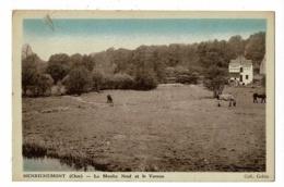 Henrichemont - Le Moulin Neuf Et Le Vernon (chevaux Au Prè, Tannerie, Corroirie, Tél N° 8) Circulé 1943 - Henrichemont