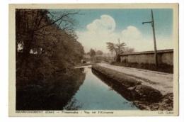 Henrichemont - Promenades - Vue De L'Abreuvoir - Circulé 1943 - Henrichemont