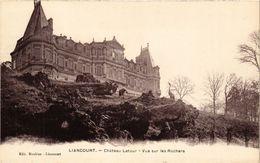 CPA LIANCOURT - Chateau Latour - Vue Sur Les Rochers (291128) - Liancourt