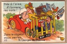 CHARENTE MARITIME - SAINT GEORGES DE DIDONNE - CARTE SYSTEME , AUTOMOBILE - 25 - TRES A L'AISE ,... - éd. ARTAUD , GABY - A Systèmes