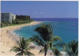 Postcard Kaanapali Beach Resorts Maui Hawaii My Ref  B23776 - Maui