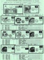 FJ 2: Jumelages Européens - Partnerschaft - Twin-cities (de 1958 à 1975) Collection De 185 Enveloppes Différentes  TTB - European Ideas