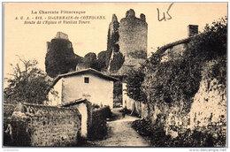 16 SAINT GERMAIN DE CONFOLENS - Route De L'église Et Vieilles Tours - Autres Communes