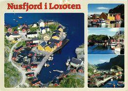CPA AK Nusfjord I Lofoten NORWAY (830431) - Norvège