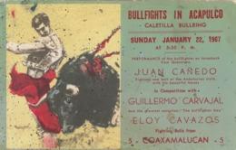 MEXIQUE  1957 Corrida - Mexico