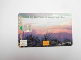 Télécarte Magagascar , Malagasy , Végétation - Madagascar