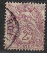 FRANCE            N°  YVERT    108    OBLITERE       ( SD ) - 1900-29 Blanc