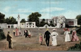 EXPOSITION COLONIALE  MARSEILLE 1906  PALAIS DE LA TUNISIE - Exposiciones