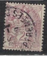 FRANCE            N°  YVERT    108  ( 1 )   OBLITERE       ( SD ) - 1900-29 Blanc