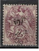 FRANCE            N°  YVERT    108  ( 2 )   OBLITERE       ( SD ) - 1900-29 Blanc