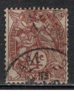 FRANCE            N°  YVERT    108  ( 3 )   OBLITERE       ( SD ) - 1900-29 Blanc