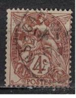 FRANCE            N°  YVERT    108  ( 5 )   OBLITERE       ( SD ) - 1900-29 Blanc