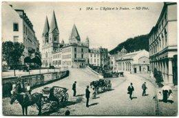 Belgique - Spa - L'Eglise Et Le Pouhon - ND Phot Nº 9 - 6413 - Spa