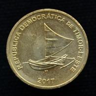 East Timor 25 Centavos (BCTL) 2017. Coin UNC - Münzen