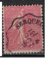 FRANCE            N°  YVERT    129   ( 6 )         OBLITERE       ( SD ) - 1903-60 Sower - Ligned