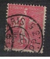 FRANCE            N°  YVERT    129   ( 8 )         OBLITERE       ( SD ) - 1903-60 Sower - Ligned