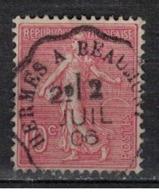FRANCE            N°  YVERT    129   ( 9 )         OBLITERE       ( SD ) - 1903-60 Sower - Ligned