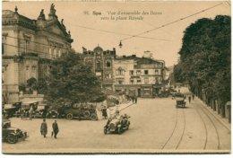 Belgique - Spa - Vue D'ensemble Des Bains Vers La Place Royale - Belge Lumière Nº 91 - 6418 - Spa