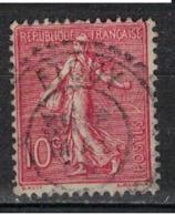 FRANCE            N°  YVERT    129   ( 19 )         OBLITERE       ( SD ) - 1903-60 Sower - Ligned