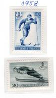 SPORT - OLYMPIC GAMES - 1958 - FINLANDIA  -  Mi. Nr. 489/490 - NH - (6532-52) - Nuovi