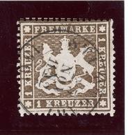 Württemberg MiNr. 16 X A Gestempelt Im Borek Vordruck (BW7434 - Wuerttemberg