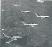 Grande Argentique Chasseurs RF De La 9e Escadre Chasse Avion Aviation Militaire - Luftfahrt