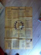 Les Chansons Populaires, Chansonnier Victor Baudière, Tour Effel. - Posters