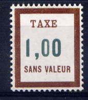 FRANCE - FT28** - FICTIF TAXE EMISSION 1972 - Phantomausgaben