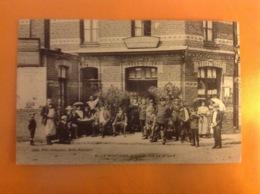 CPA 62 BILLY MONTIGNY RENTRÉE RUE DE LA GARE ÉDIT.ALB.VEREYCKEN ROUBAIX 1911 VOIR IMAGES - Altri Comuni