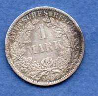 Allemagne  - 1 Mark 1902 A   -  TTB - [ 2] 1871-1918 : German Empire