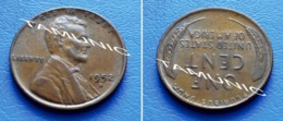 UNITED STATES USA 1 Cent ONE CENT 1952 D - LINCOLN - 1909-1958: Lincoln, Wheat Ears Reverse