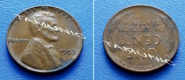 UNITED STATES USA 1 Cent ONE CENT 1953 - LINCOLN - 1909-1958: Lincoln, Wheat Ears Reverse