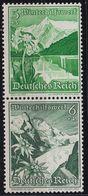 GERMANY REICH [Zdr] S245 ( **/mnh ) - Zusammendrucke
