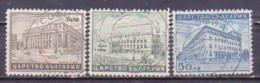 72-862 / BG - 1941  BUILDINGS In SOFIA  Mi 429/31 O - 1909-45 Royaume