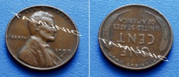 UNITED STATES USA 1 Cent ONE CENT 1957 D - LINCOLN - 1909-1958: Lincoln, Wheat Ears Reverse