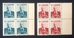 Albania 1960; Famous People, Communist History; Lenin; MNH / Neuf** / Postfrisch!! CV 64 Euro!! - Lenin