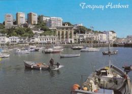Postcard Torquay Inner Harbour Devon My Ref  B23781 - Torquay