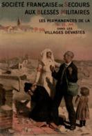 @@@ MAGNET - Société Française De Secours Aux Blessés Militaires. Les Permanences De La SBM Dans Les Villages Dévastés - Publicitaires