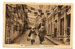 Quimperlé - Rue Savary - CPA° - Quimperlé